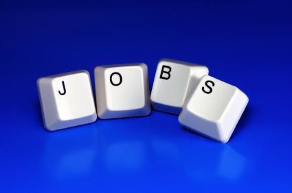 Tasten mit dem Wort Jobs