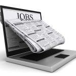 Laptop mit Jobbörse