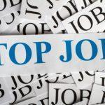 Top Job Symbol Schriftzug