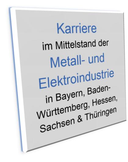 Banner Xing-Gruppe Karriere im Mittelstand der Metall- und Elektroindustrie